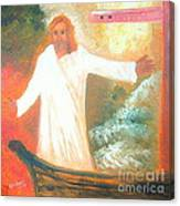 Jesus Is The Christ Messiah Canvas Print