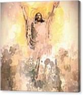 Jesus Loves You 2 Canvas Print