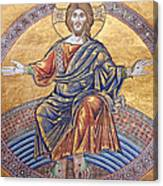 Jesus Mosaics Canvas Print