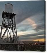 Jesus Saves Watertower - Route 66 Canvas Print