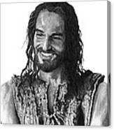 Jesus Smiling Canvas Print