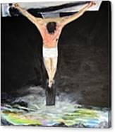 Jesus The Ultimate Sacrifice Canvas Print