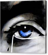 Tear Drop Canvas Print