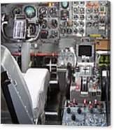 Jet Cockpit Canvas Print