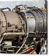 Jet Turbine Engine  Canvas Print