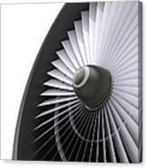 Jet Turbine Canvas Print