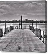 Jetty Canvas Print