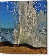 Jetty Splash 8 10/1 Canvas Print