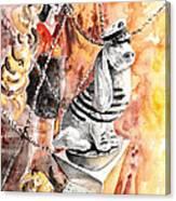 Jeux De Seduction In Dublin 06 Canvas Print