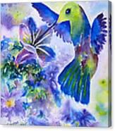 Jewel In Flight Canvas Print