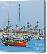 Jewel Of The Marina  Canvas Print
