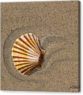 Jewel On The Beach II Canvas Print