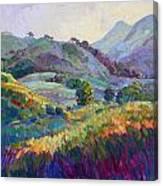 Jeweled Hills Canvas Print