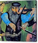Jewish Klezmer Canvas Print