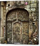 Jewish Quarter Doorway Canvas Print