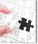 Jigsaw Puzzle Canvas Print