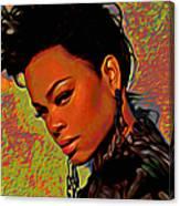 Jill Scott Canvas Print
