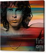 Jim Morrison The Doors Canvas Print