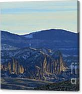 Jim Mountain Lava Field   #9037 Canvas Print