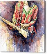 Jimi Hendrix 09 Canvas Print