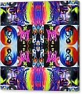 Jimi Kaleidoscope I Canvas Print