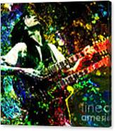 Jimmy Page - Led Zeppelin - Original Painting Print Canvas Print