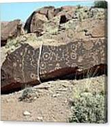 Jitterbug Petroglyph Canvas Print