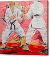 Jiyu Kumite Canvas Print