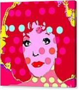 Joan Collins Canvas Print