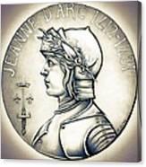 Joan Of Arc - Original Canvas Print