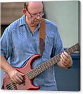 Jocelyn Godfrey Bass Player 2 Canvas Print
