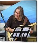 Jocelyn Godfrey Guitarist 2 Canvas Print