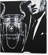 Jock Stein - Celtic Fc Canvas Print