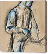 Jockey Canvas Print
