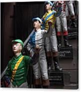 Jockeys Canvas Print