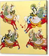 Jodhpur Polo Canvas Print