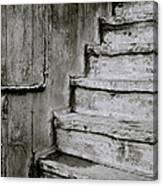 The Monochrome Steps Canvas Print