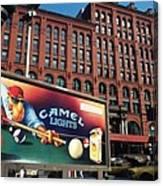 Joe Camel Stays Cool Canvas Print