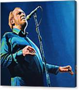 Joe Cocker Painting Canvas Print