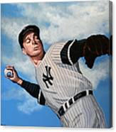 Joe Dimaggio Canvas Print