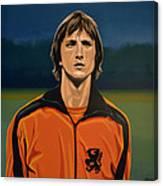 Johan Cruyff Oranje Canvas Print