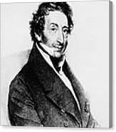 Johann Von Malfatti Canvas Print