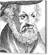 Johannes Aepinus (1499-1553) Canvas Print