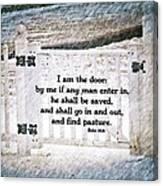 John 10 9 Canvas Print