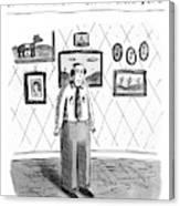 John B.; Best Entertainment Value For Under $1.79 Canvas Print