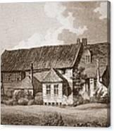 John Bunyans Meeting House, Early 19th Canvas Print