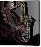 John Coltrane Jazz Saxophone Legend Canvas Print