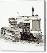 John Deere Crawler Canvas Print