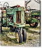 John Deere Past Canvas Print