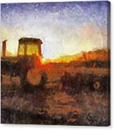 John Deere Photo Art 06 Canvas Print